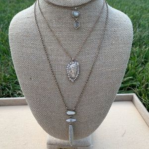 Chloe + Isabel African Plains Three-Row Necklace